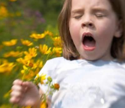 alergias en niños