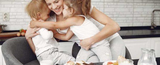 Hábitos alimenticios de madres e hijos